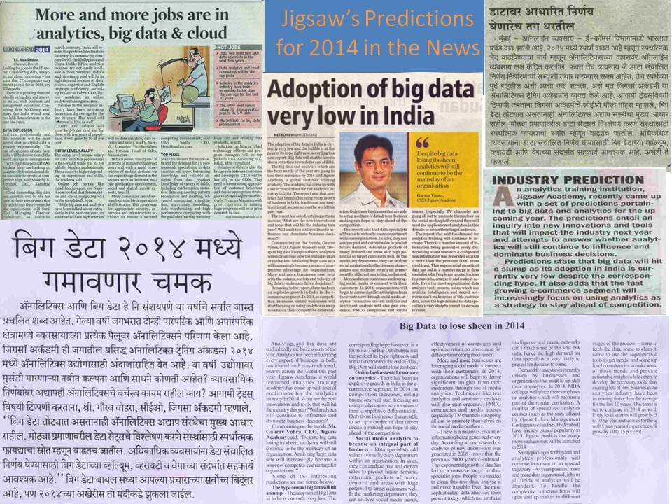 Jigsaw's Predictions for 2014 in the News